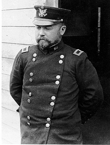 General Funston in San Francisco, 1906. Photo: California State Parks