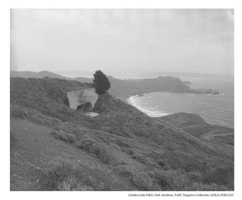 Battery Townsley And The Pacific Ocean