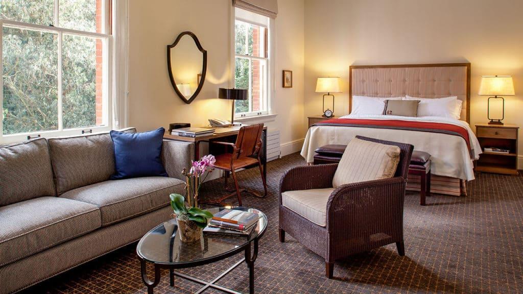 Inn at the Presidio Classic Queen Suite Room