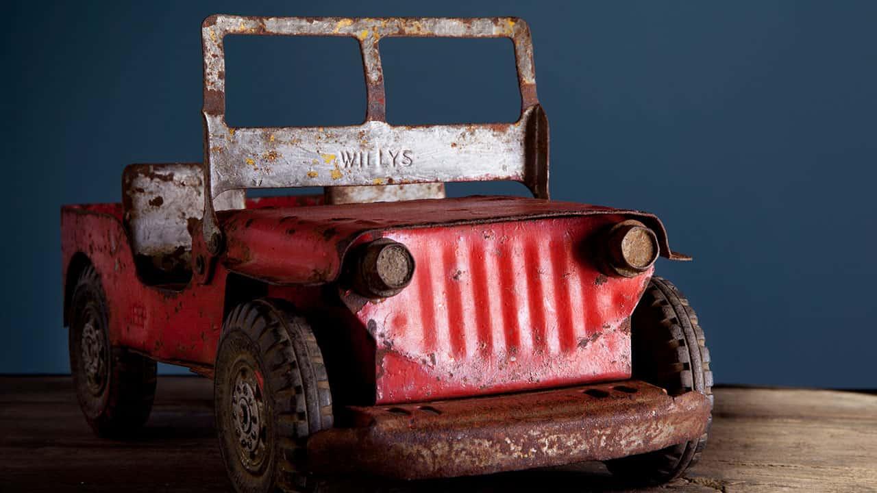 Inn at the Presidio Vintage Toy Truck