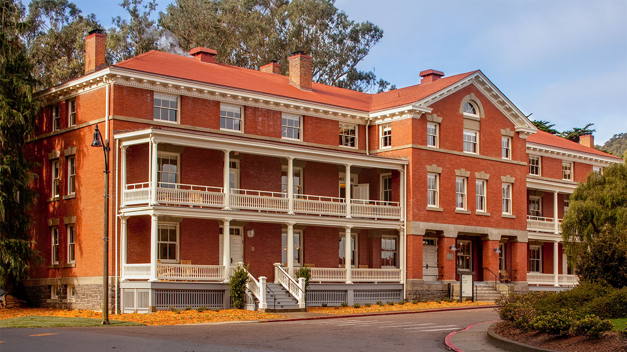 Inn at the Presidio Front Of Building With Entrance