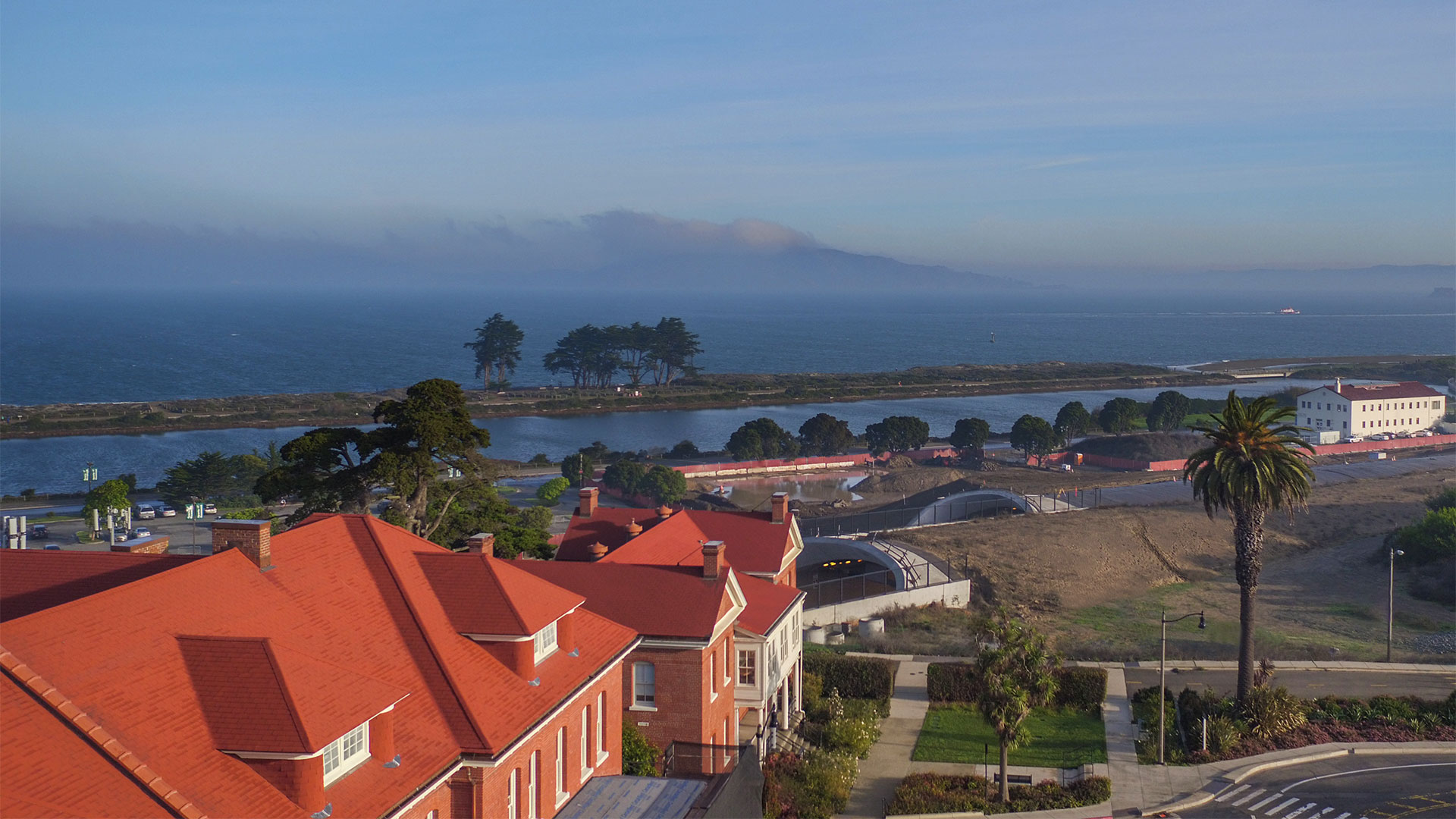 From the Lodge looking towards Alcatraz