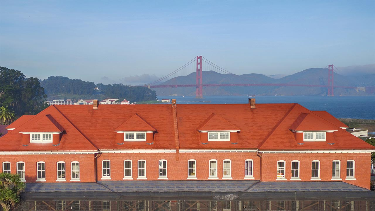 Lodge at the Presidio Under Construction