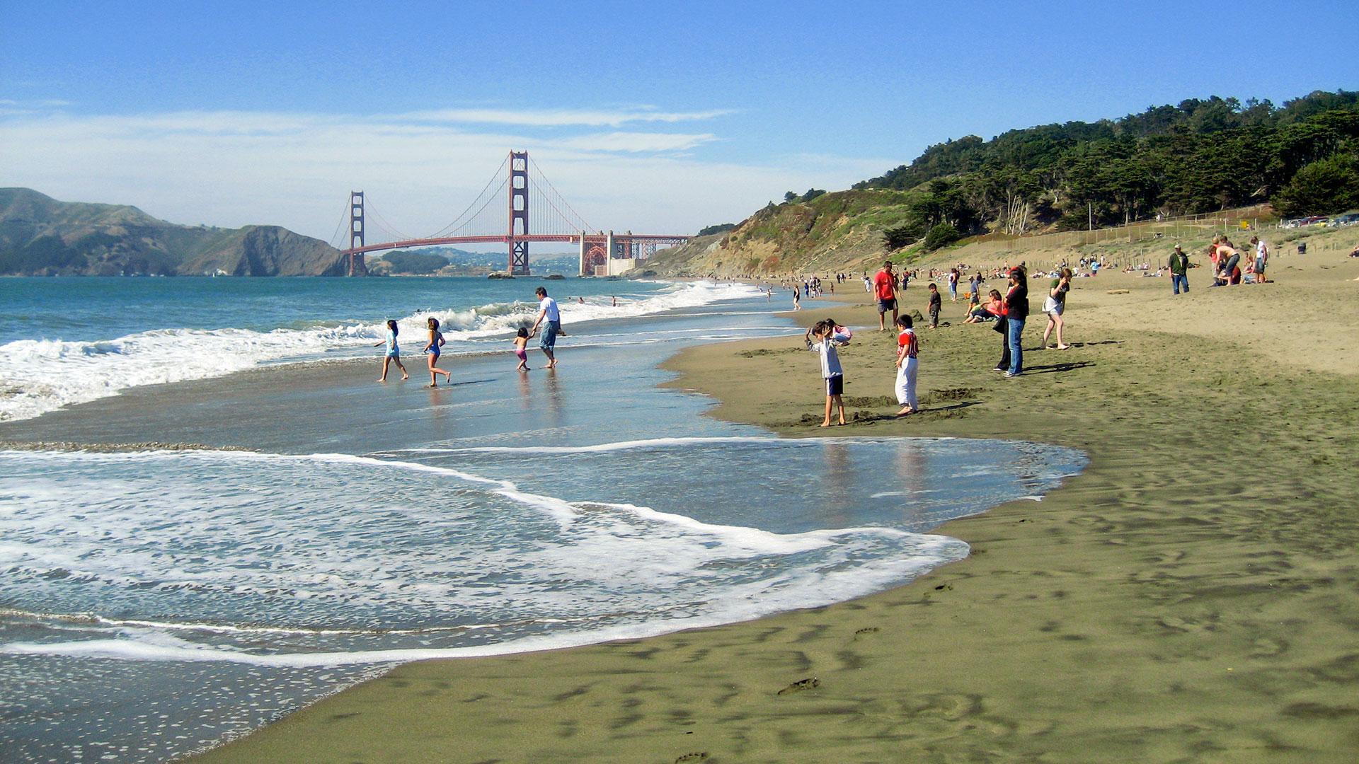 Presidio Of San Francisco Baker Beach