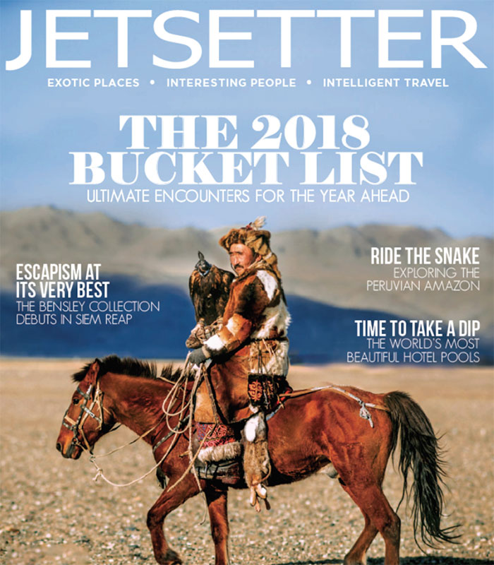 Lodge at the Presidio Featured In Jetsetter Magazine - The 2018 Bucket List