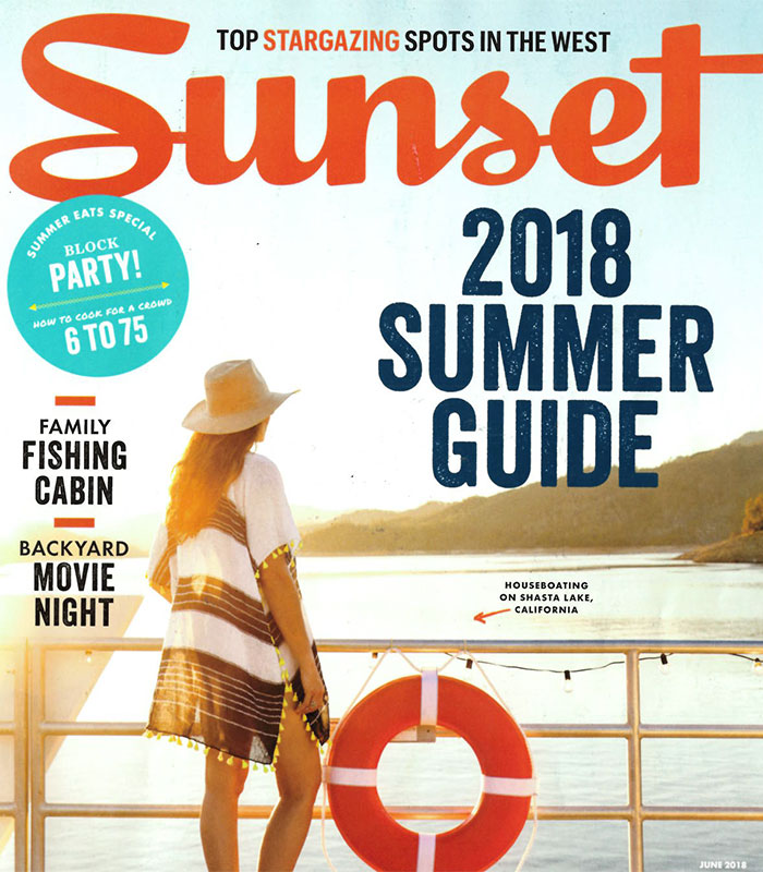 Lodge at the Presidio Featured In Sunset Magazine  - 2018 Summer Guide