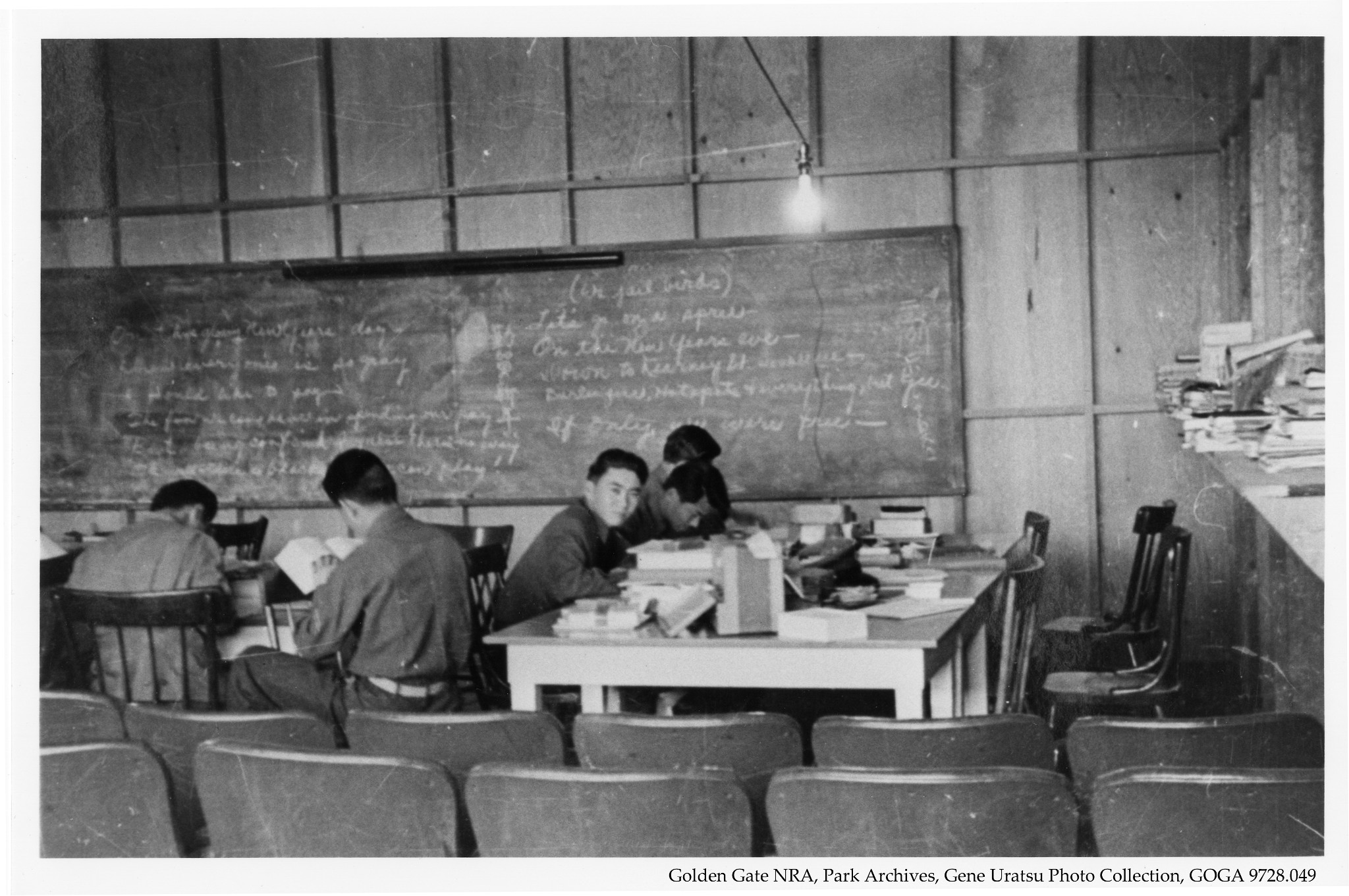 Japanese American Students - WWII