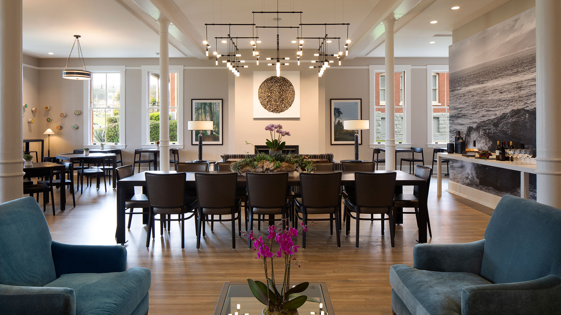 Lodge at the Presidio Living And Dining Room Area