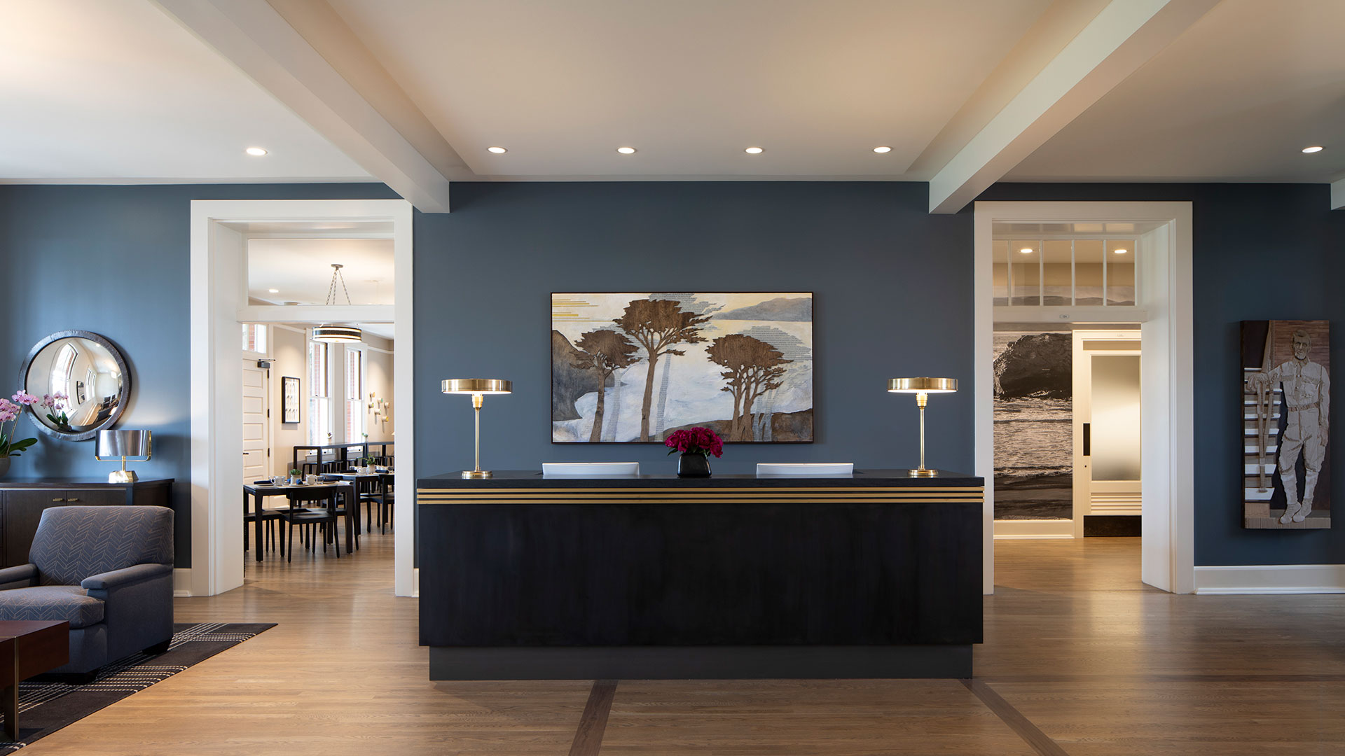 Lodge at the Presidio Lobby Area